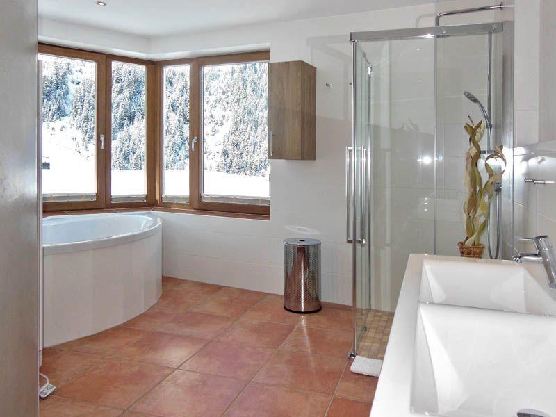 Badezimmer im Apartment Cirrus