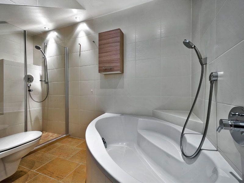 Badezimmer im Apartment Cumulus