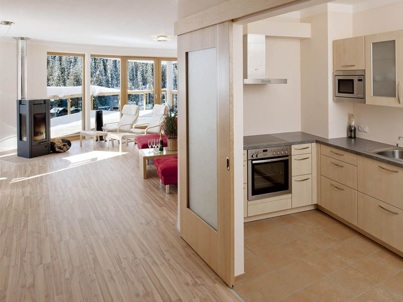 Küche des Apartments Nimbus
