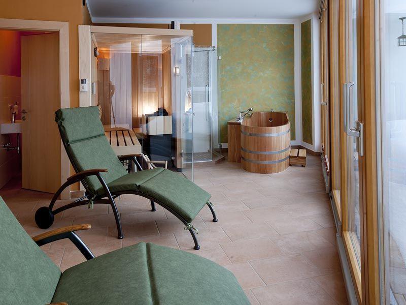 Sauna im Apartment Nimbus