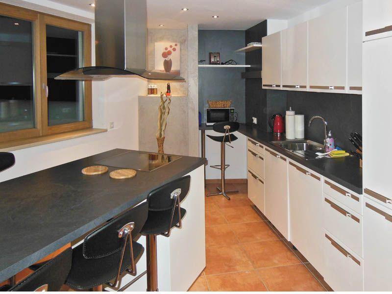 Küche des Apartments Stratus